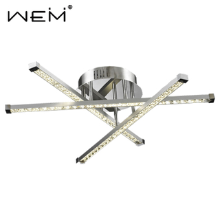 Newly Unique Design Crystal Ceiling Lamps Triangle Simple Ceiling Lamp Led Crystal Ceiling Lamp Modern