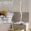 Zhongshan Modern Simple Crystal Aluminum Desk Table Lamp Interior Decoration LED Crystal Table Lamp