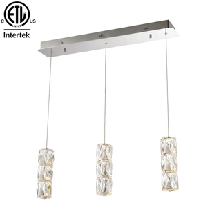 Wholesale High Quality Chandeliers Modern Luxury Chandelier LED Hanging Lamp Crystal Pendant Light Zhongshan